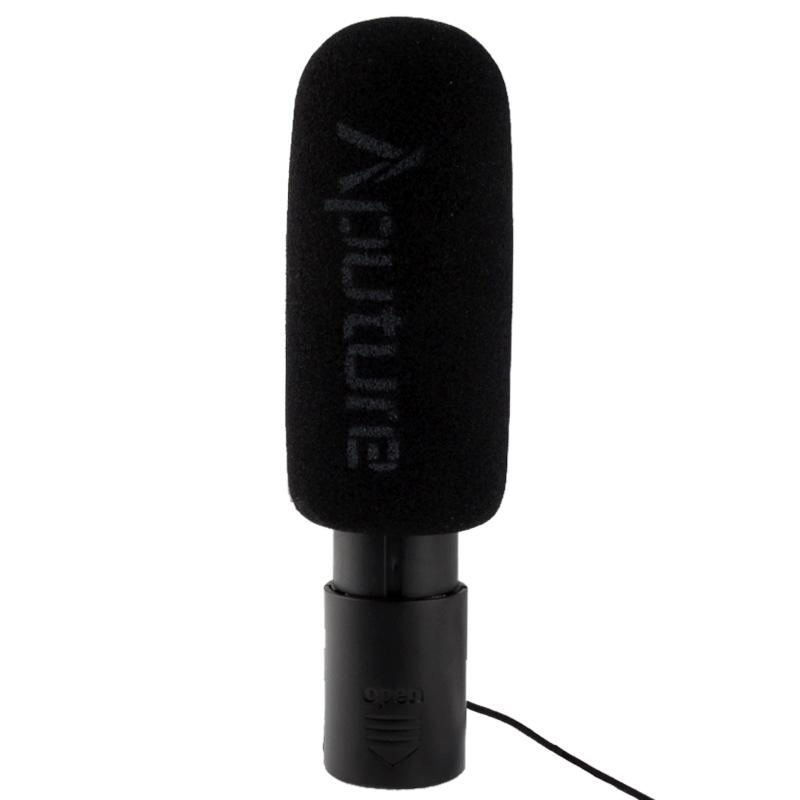 V-MIC D1 Richtingsgevoelige Condensator Shotgun Microfoon, Ondersteunt 360 Graden Pan / 180 Graden Tilt