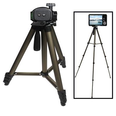 Portable Tripod Statief Standaard voor Digitale Camera, 4-delige aluminium poten met klem