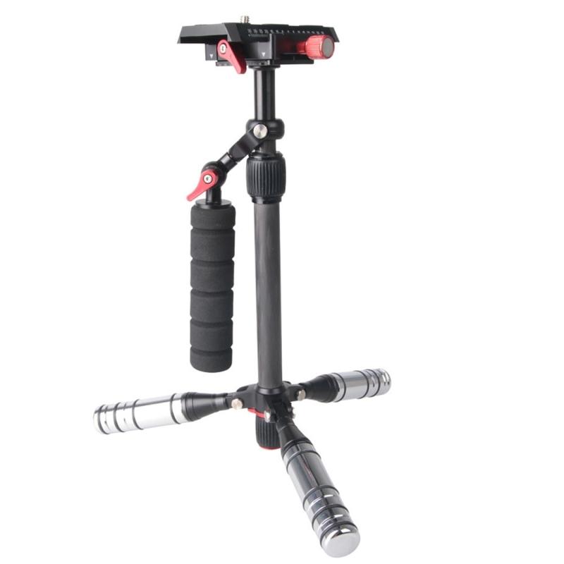 Letspro Professionele Verstelbare Koolstofvezel Slider Stabilisator voor Camera / DV / DSLR / Camcorder (SK-500)