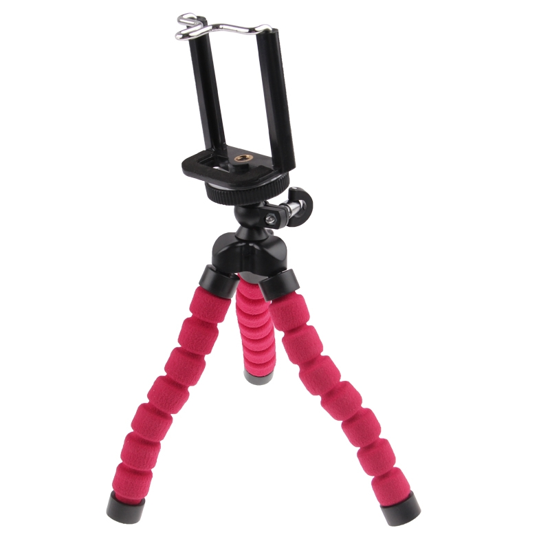 Flexibele Octopus Bubble Tripod Statief Standaard houder voor mobiele telefoon / Digital Camera