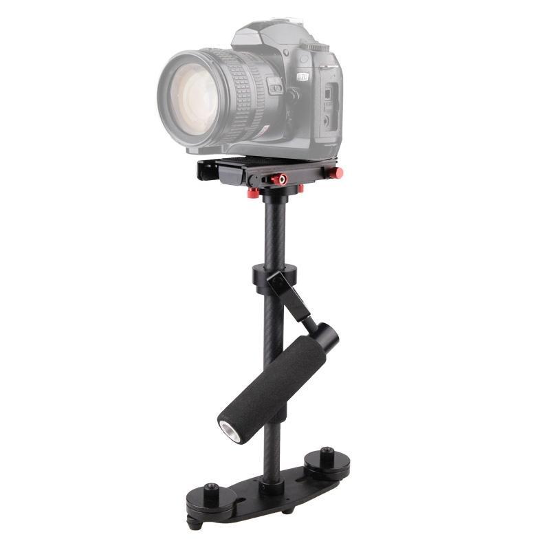 DEBO KS-F2 Camera Handheld Stabilisator voor Camcorder DV Video Camera DSLR (zwart)