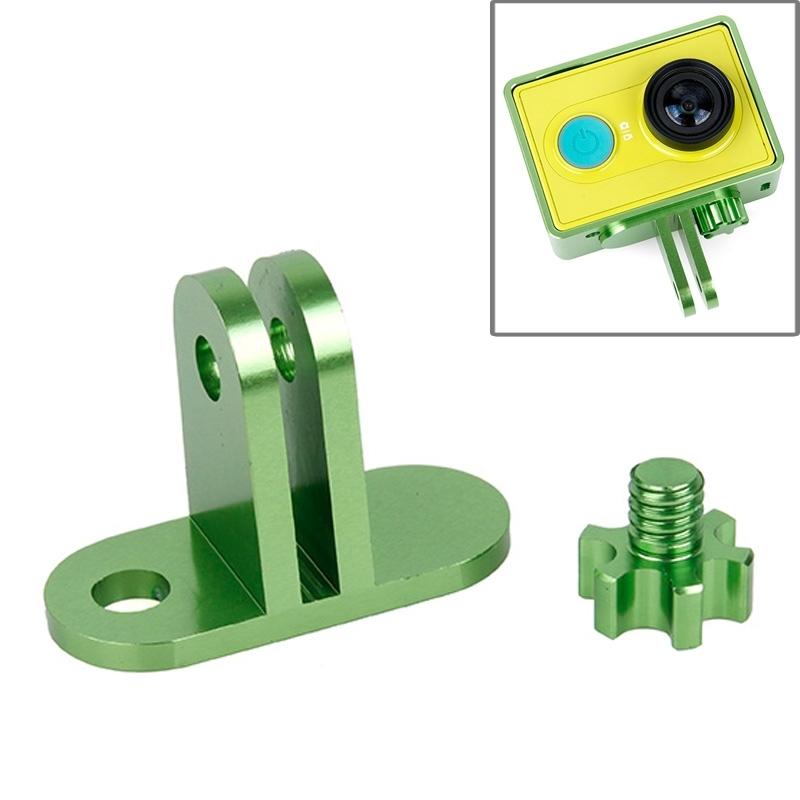 TMC lichtweight CNC Aluminum Headset Mount voor XiaoMi YI Sport Camera(groen)