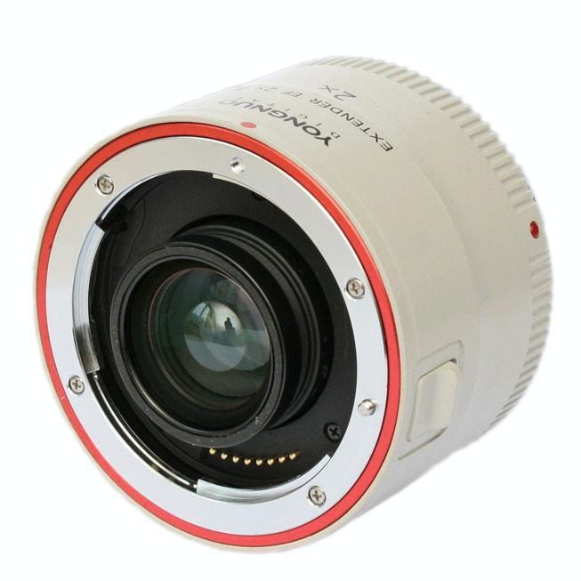 Yongnuo Extender YN-2.0XIII 2X Vergrotingsfactor Teleconverter Auto Focus Mount Lens voor Canon EOS EF Lens
