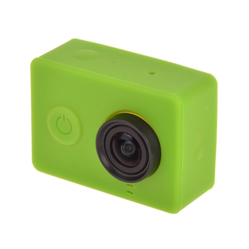 siliconen Gel beschermings hoesje voor Xiaomi Yi Sport Camera(groen)