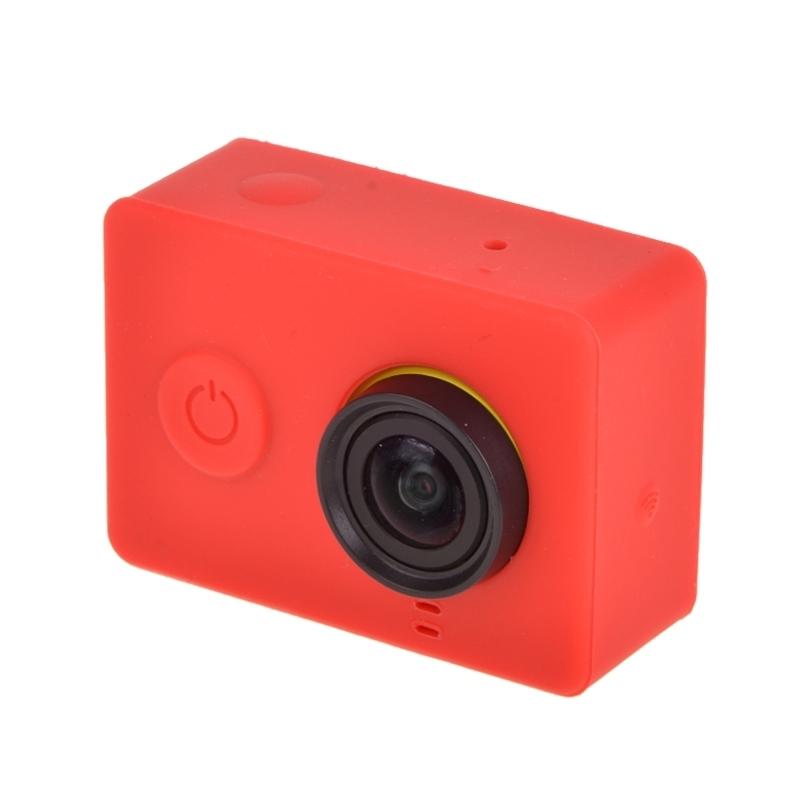 siliconen Gel beschermings hoesje voor Xiaomi Yi Sport Camera(rood)