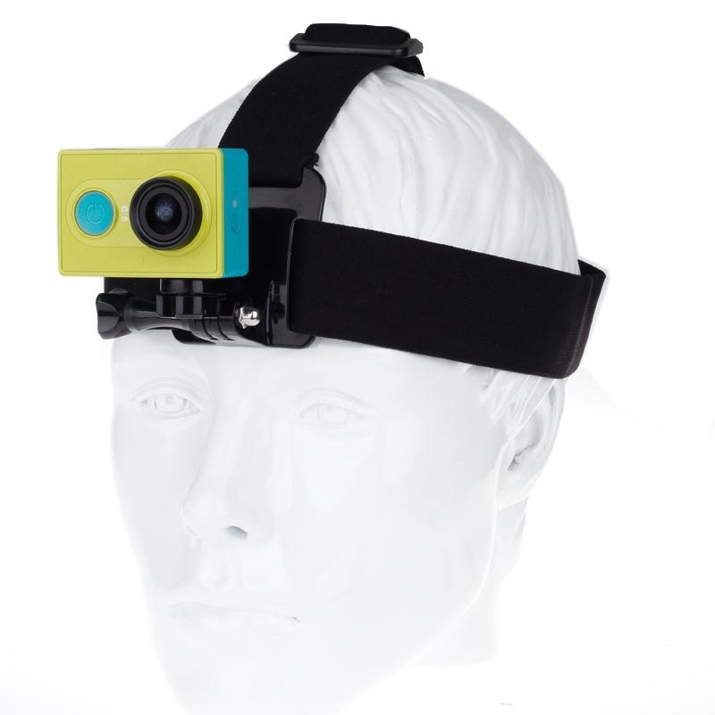Verstelbaar hoofd riem riem met Connector Mount voor Xiaomi Yi Sport Camera
