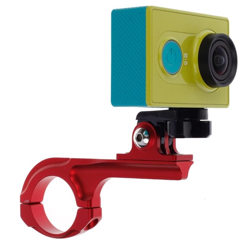 Fietsstuurhouder ontmoet Connector Mount voor Xiaomi Yi Sport Camera(rood)
