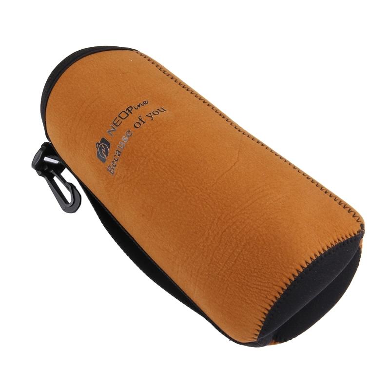 NEOpine Universele Vochtwerende Neopreen Camera Lens Opbergtas voor Canon / Nikon / Sony Camera, Afmeting: 23 x 9.5 cm (XL)