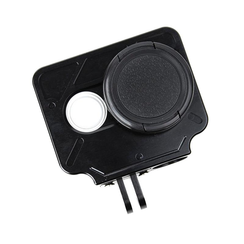 TMC HR327 CNC Aluminum Alloy beschermings hoesje voor Xiaomi Yi Action Camera(zwart)