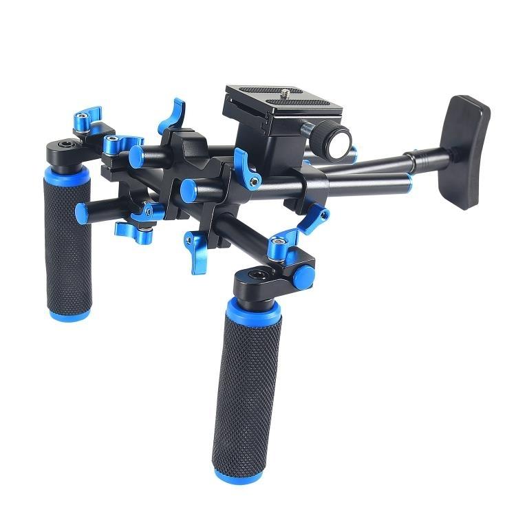 YELANGU YLG0102E Camera Schouderstatief Set met twee Handgrepen