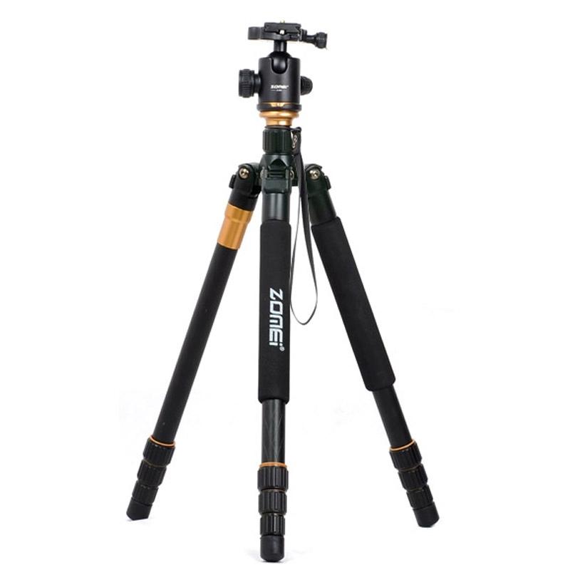 ZOMEI Z688 Professioneel Portable Statief Magnesium Tripod Monopod Standaard met Balhoofd voor Digitale Camera