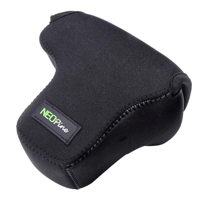 NEOpine Neopreen schokbestendige Camera Tas Hoes met Haak voor Fujifilm X-T10 Camera (zwart)