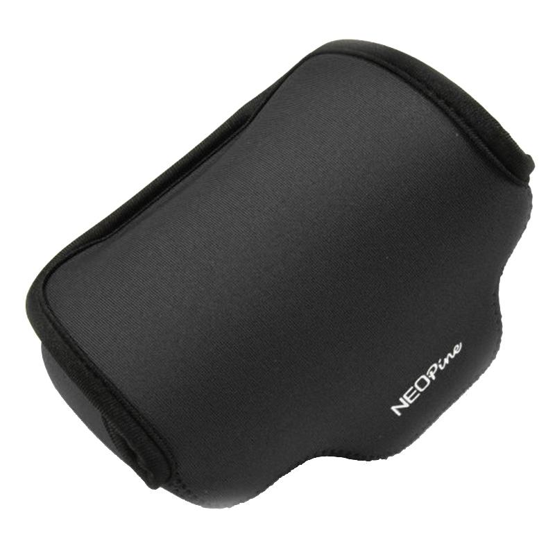 NEOpine Neopreen schokbestendige Camera Tas Hoes met Haak voor Fujifilm X30 Camera (zwart)