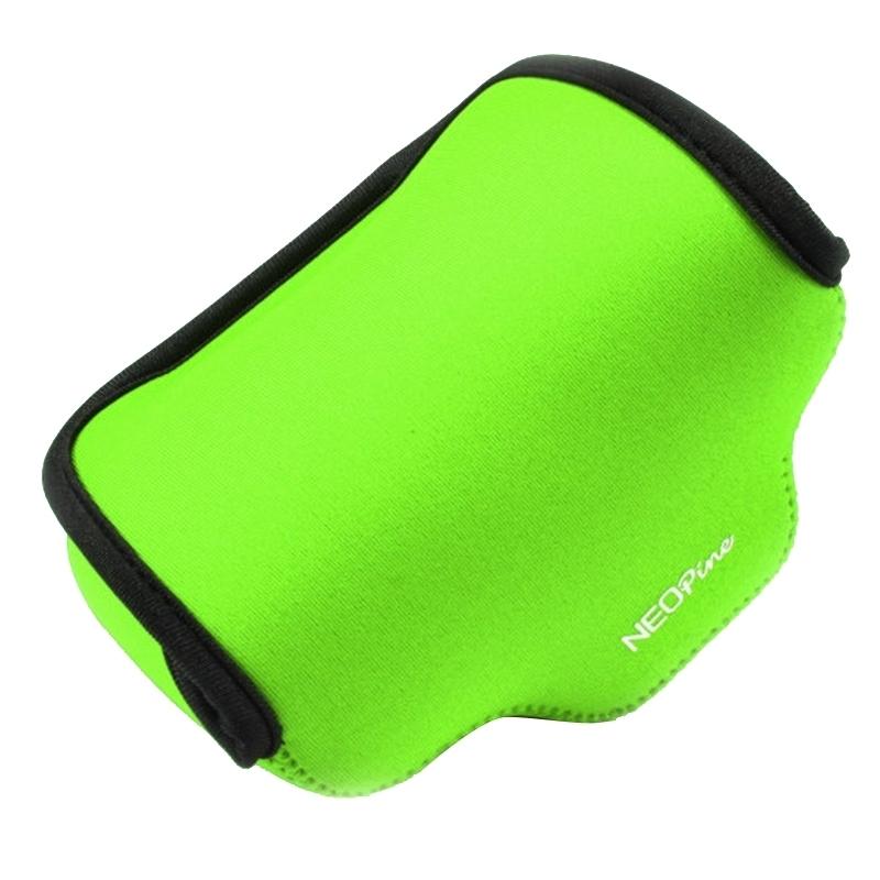 NEOpine Neopreen schokbestendige Camera Tas Hoes met Haak voor Fujifilm X30 Camera (groen)