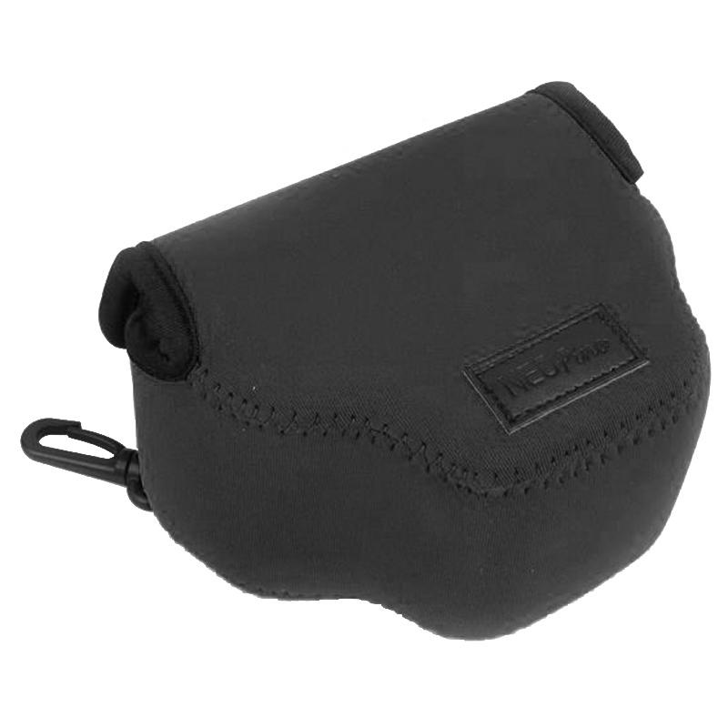 NEOpine Neopreen schokbestendige Camera Tas Hoes met Haak voor Canon SX510 Camera (zwart)
