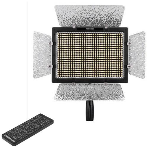YONGNUO YN600L 5500K 600 LED Videolamp met instelbare Kleurtemperatuur voor Canon / Nikon / Sony Camcorder DSLR