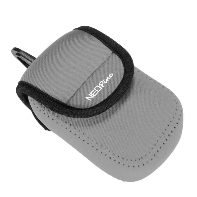 NEOpine Neopreen Camera Tas Hoes voor Canon G9X, Afmetingen: 8.0 x 4.0 x 12.5 cm (grijs)