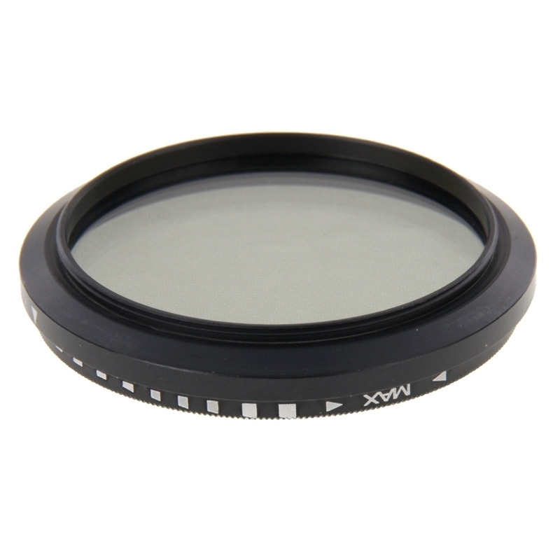49mm ND Neutral Density Filter instelbaar ND 2 tot ND 400 grijsfilter