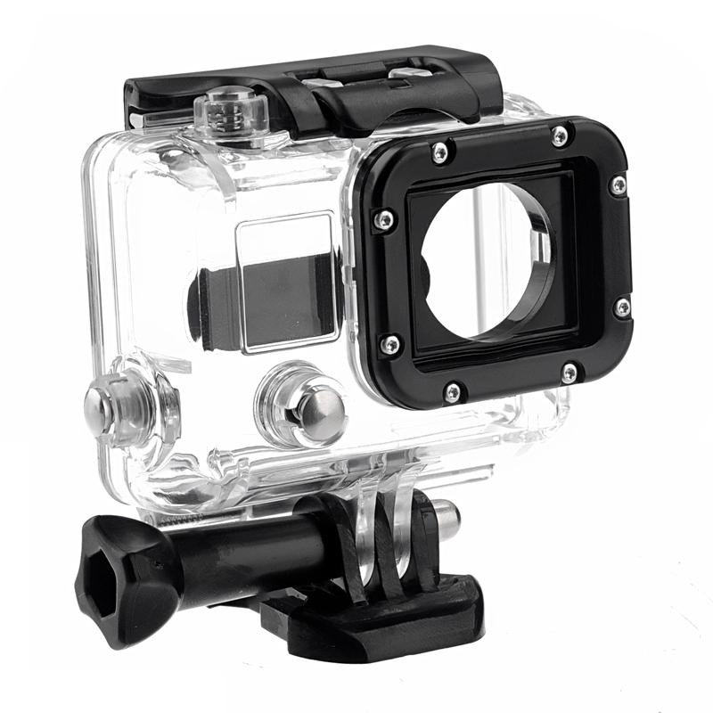 Skelet beschermings huisvesting metout Lens voor GoPro HERO3, Open kant voor FPV, metout Kabel