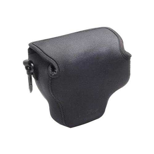Portable Mini Neopreen Camera Tas Hoes voor Canon SX520 HS, Afmetingen: 10 x 10 x 13 cm (zwart)