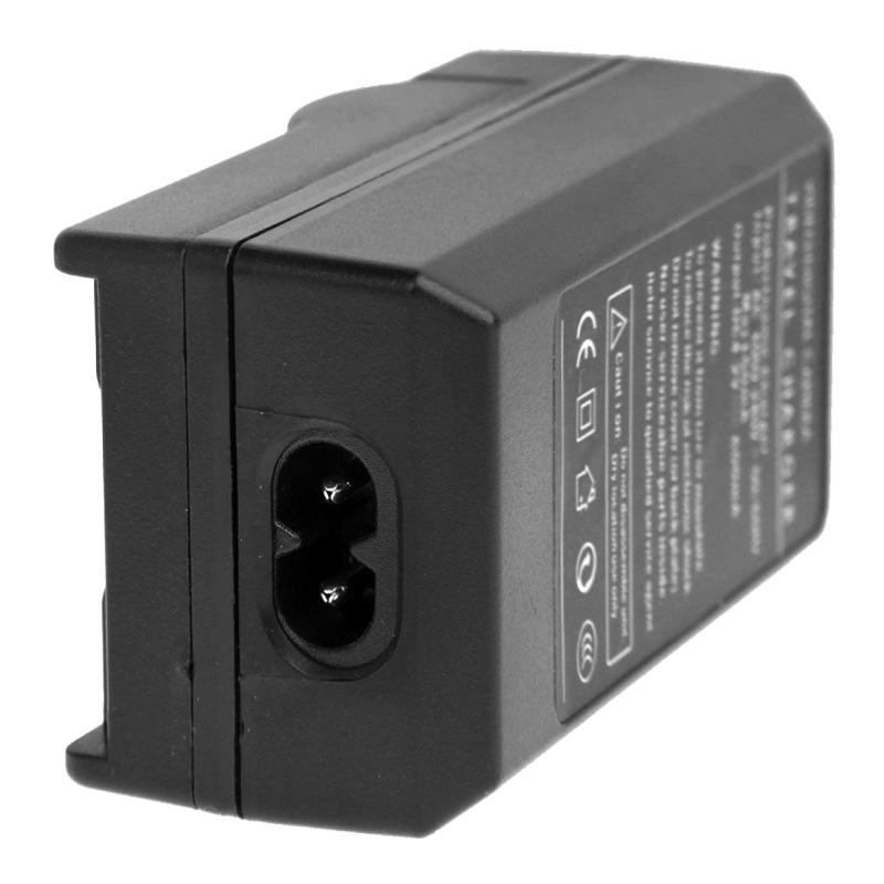 2-in-1 digitale camera batterij / accu laadr voor canon lp-e10