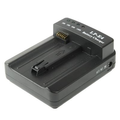 LP-E4 Batterij Lader voor Canon EOS 1DS Mark III / 1D Mark III 4 / Mark IV / LC-E4 (zwart)