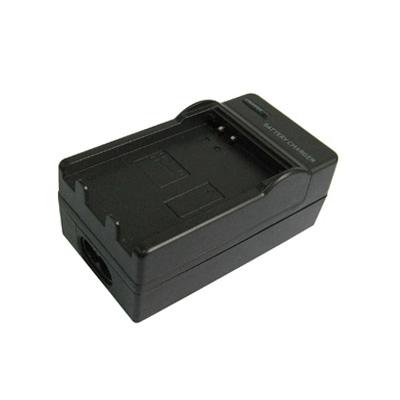2-in-1 digitale camera batterij / accu laadr voor samsung bp-80w