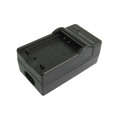 2-in-1 digitale camera batterij / accu laadr voor samsung slb-0837(b)