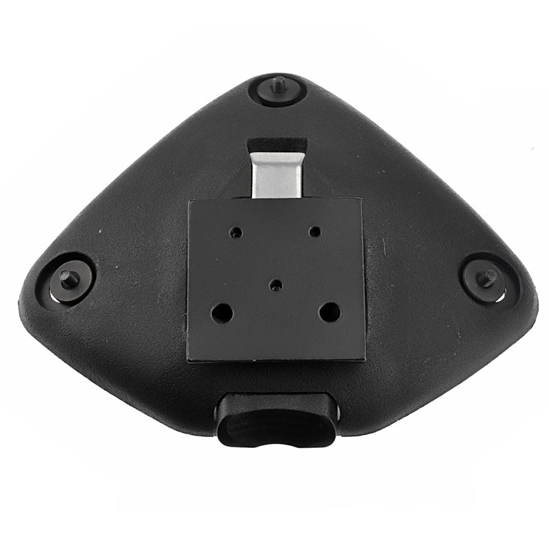 Aluminiumlegering Bottom Base Mount voor GoPro Hero 4 / 3 + / 3 / 2 / 1 / nacht visie Camera(ST-82)(zwart)