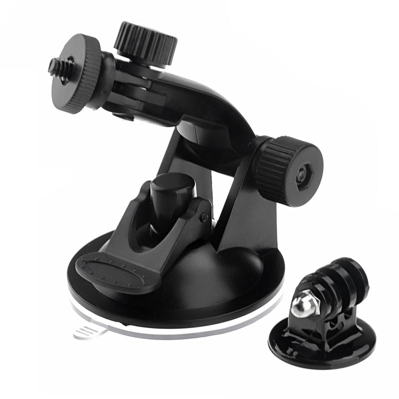Zuignap Mount + statief Adapter voor GoPro Hero 4 / 3 + / 3 / 2 / 1 (ST-61)(zwart)