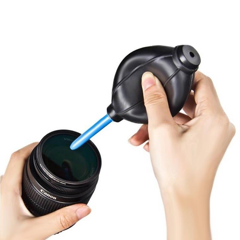rubber mini air stof blower schonere voor mobiele telefoon / computer / digitale camera's, horloges en andere precisie-apparatuur (zwart)