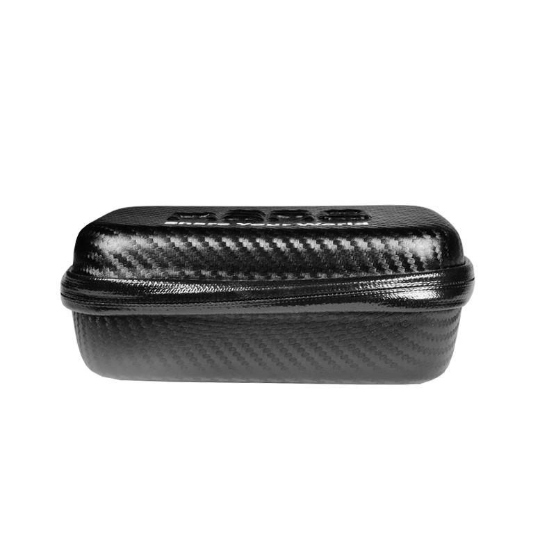 Carbon Fiber Shockproof Waterdicht draagbare hoesje voor GoPro Hero 4 / 3 + / 3 / 2 / 1, Afmeting: 16 x 11 cm x 6.5cm(zwart)