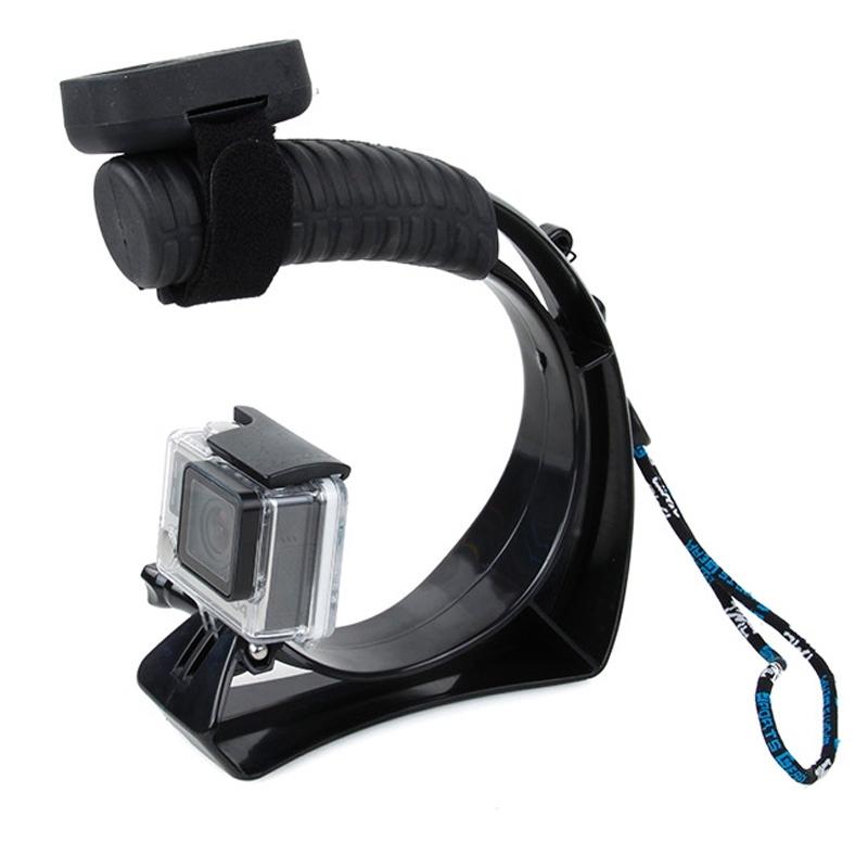 TMC Self-portrait Handheld Grip Mount voor GoPro Hero4 / 3+ / 3 / 2 / 1, Xiaomi Yi Sport Camera, SJ4000