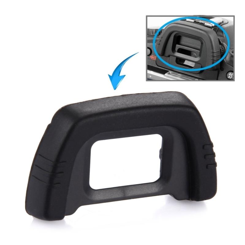 rubberen oogschelp dk-21 voor nikon d100 / d200 / d90 / d80 / d70s / d70 / d60 / d50 / d40(zwart)