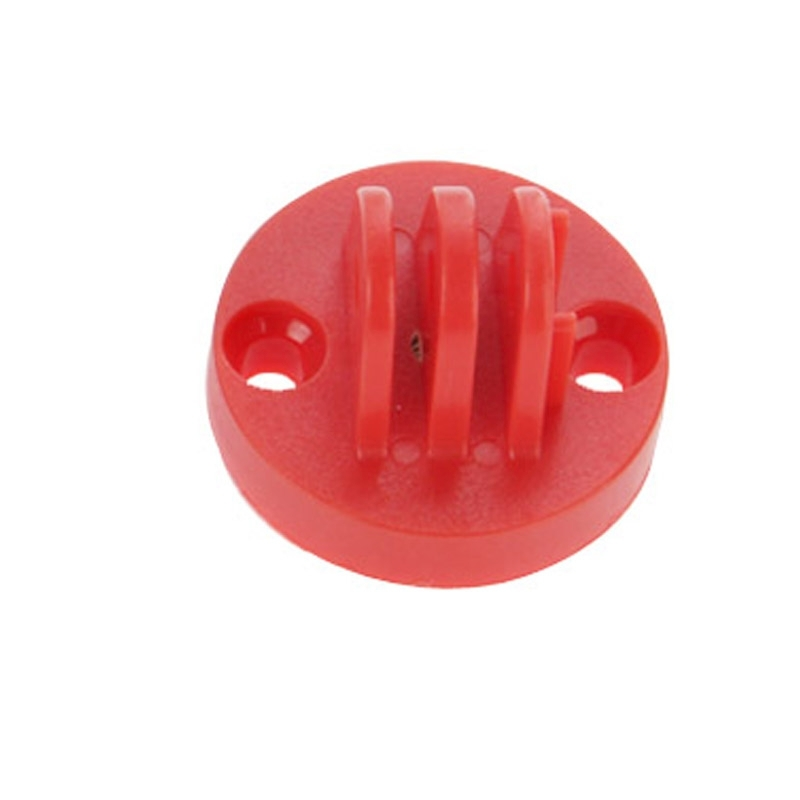 Camcorder Mount Adapter to Tripod Stand voor GoPro HERO4 /3+ /3 /2(rood)