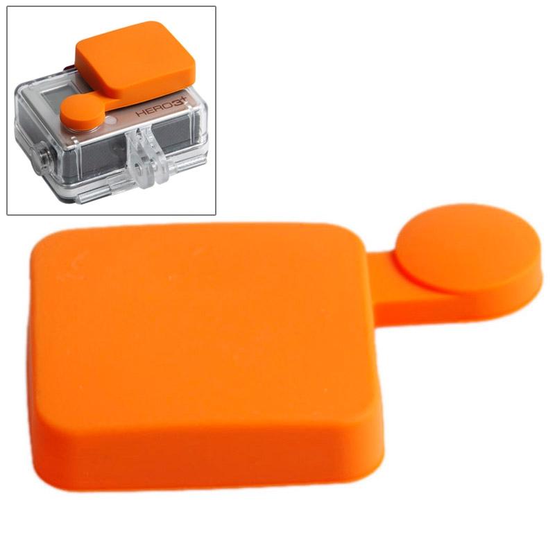 TMC siliconen Cap voor GoPro Hero 4 / 3+(Oranje)