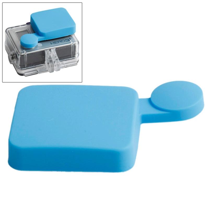 TMC siliconen Cap voor GoPro Hero 4 / 3+(blauw)