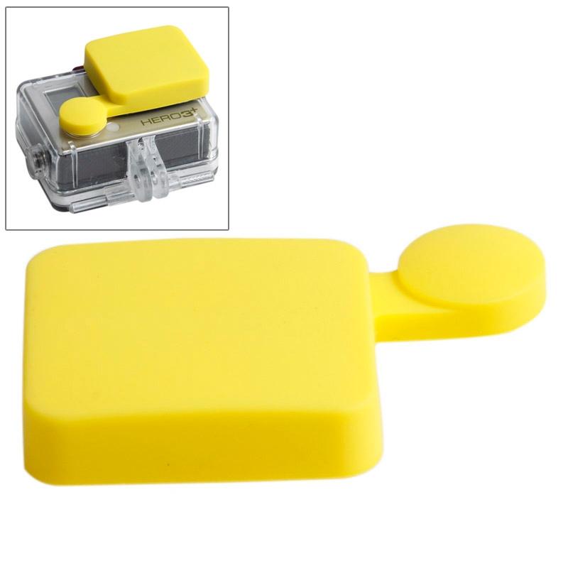 TMC siliconen Cap voor GoPro Hero 4 / 3+(geel)