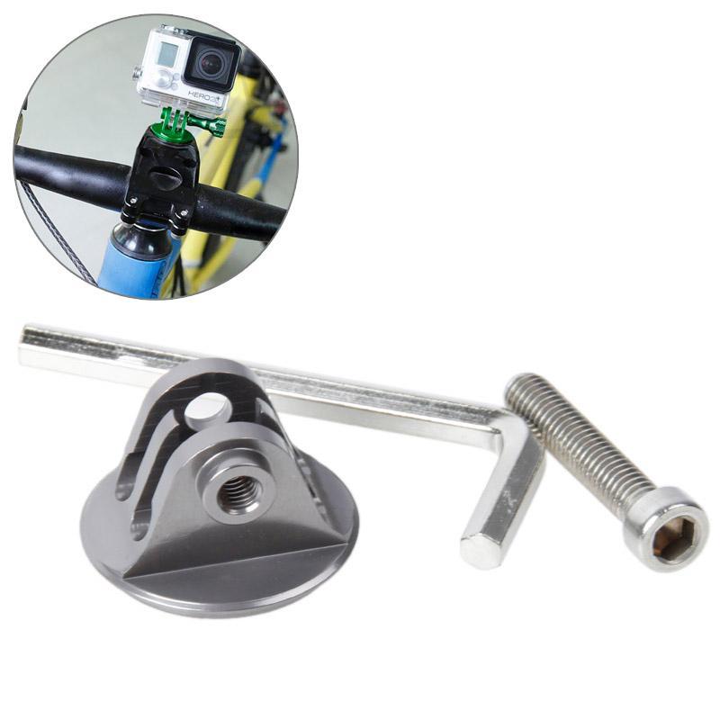 TMC hoofd stuurhouder met schroeven & Hex-schroevendraaier voor GoPro Hero 4 / 3 + / 3 / 2 / 1(grijs)