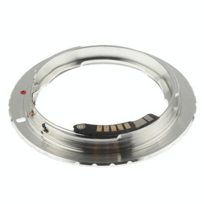 Nikon ai lens voor canon eos houder stepping lensring met chip