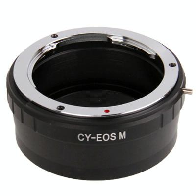 Contax cy lens voor canon eos houder stepping lensring