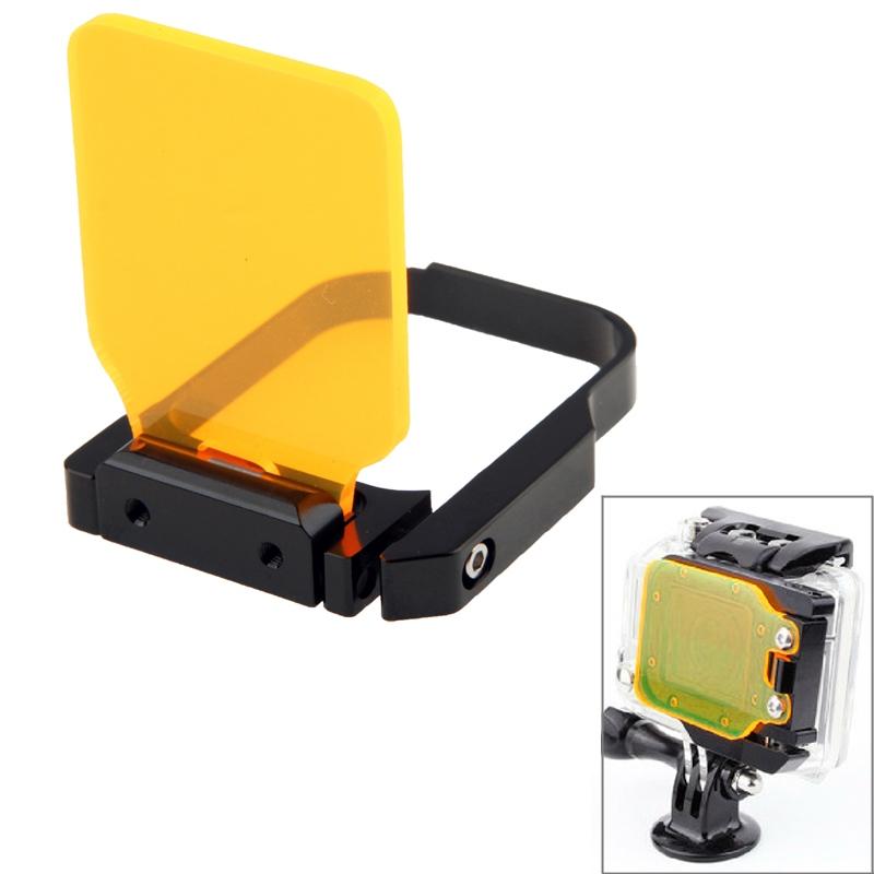 TMC licht beweging nacht onder zee Filter voor GoPro Hero 3(Oranje)