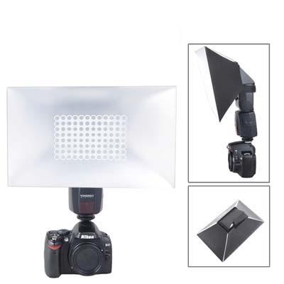 Opvouwbare zachte flitslichtverspreider (ng-280)(zwart)