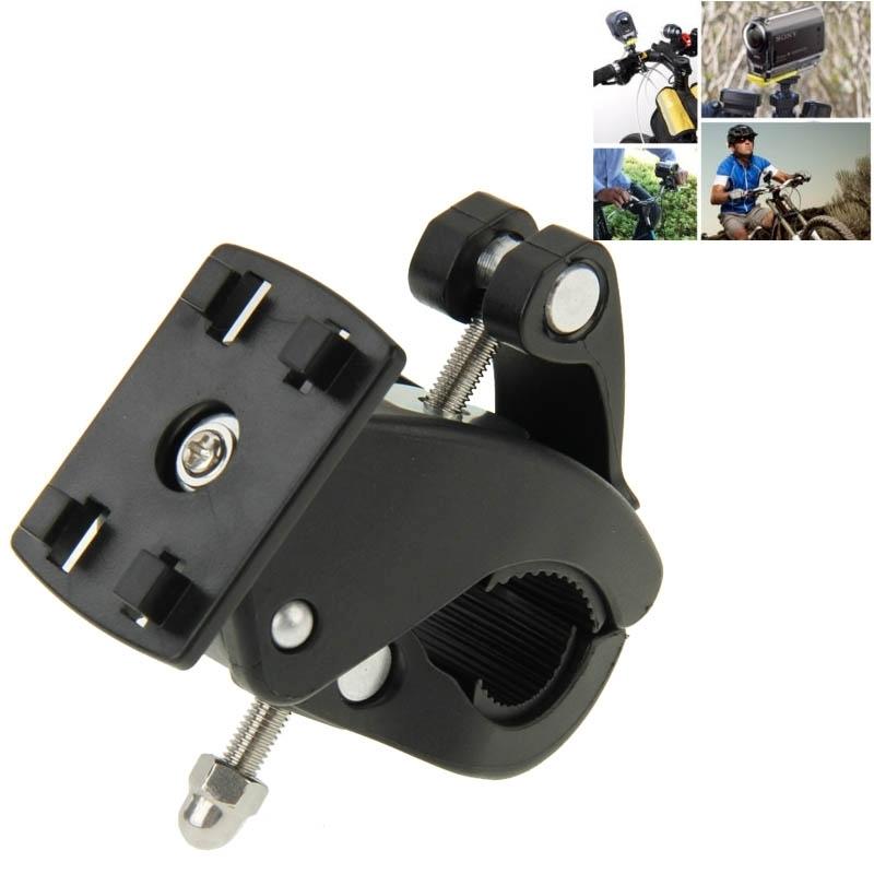 Fiets motorfiets houder Stuur monteren voor GoPro HERO4 /3+ /3 /2 /1  SJCAM SJ4000 / SJ5000 / SJ6000  Xiaoyi(zwart)
