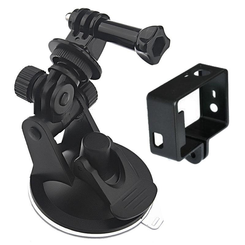 2 in 1 Zuignap Mount + Mount kaderset voor GoPro HERO4 /3+ /3
