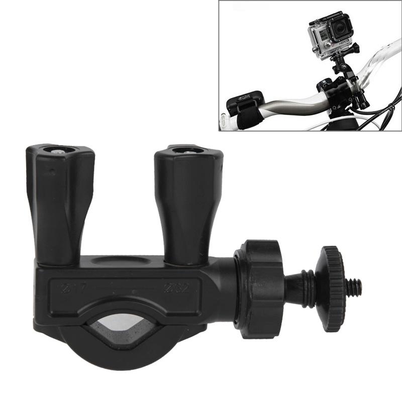 Stuur zadelpen Mount fiets Moto fiets Paalklem voor GoPro Hero 4 / 3 + / 3 / 2 / 1 / Mini Camera / Mini DV