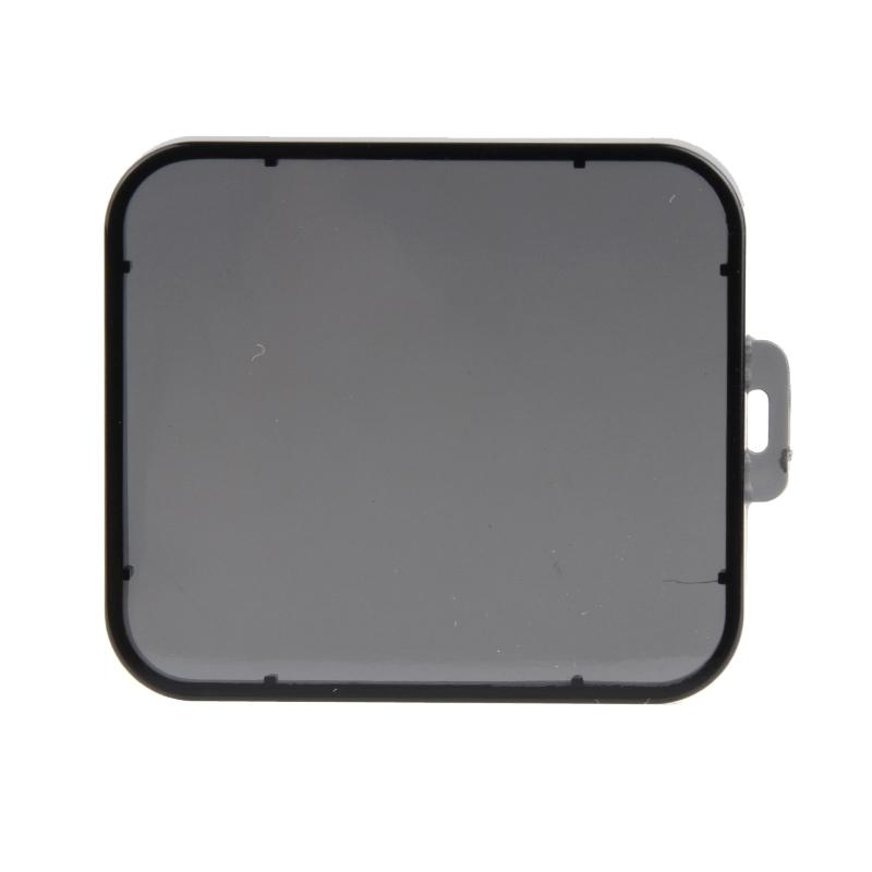 Transparant Lens Filter voor SJCAM SJ5000 Sport Camera & SJ5000 Wifi & SJ5000+ Wifi Sport DV Actie Camera (grijs)