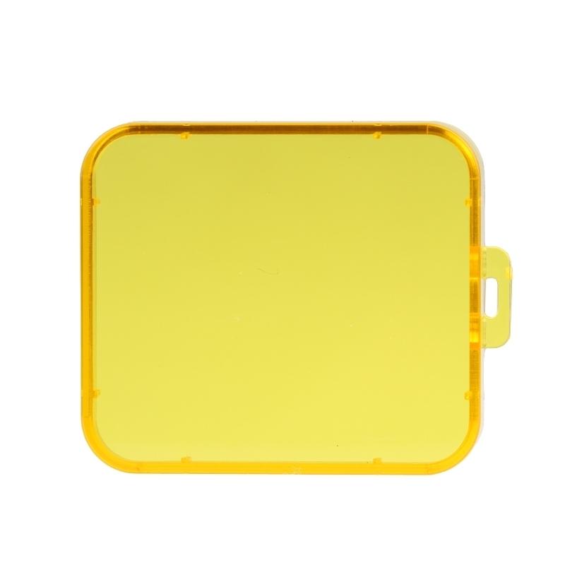 Transparant Lens Filter voor SJCAM SJ5000 Sport Camera & SJ5000 Wifi & SJ5000+ Wifi Sport DV Actie Camera (geel)