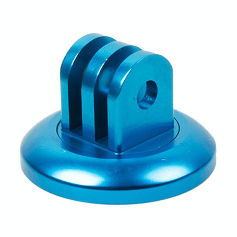 TMC Headset stuurhouder voor GoPro Hero 4 / 3 + / 3 / 2 / 1(blauw)