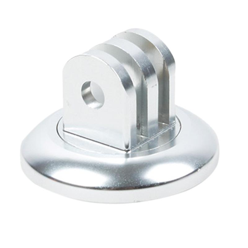 TMC Headset stuurhouder voor GoPro Hero 4 / 3 + / 3 / 2 / 1(zilver)